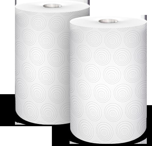 Ręcznik VELVET JUMBO Duo (2 sztuki) 2x240 listków 50m 2 warstwy 21x22,5cm 400g 100%celuloza 61251669, re 0057036