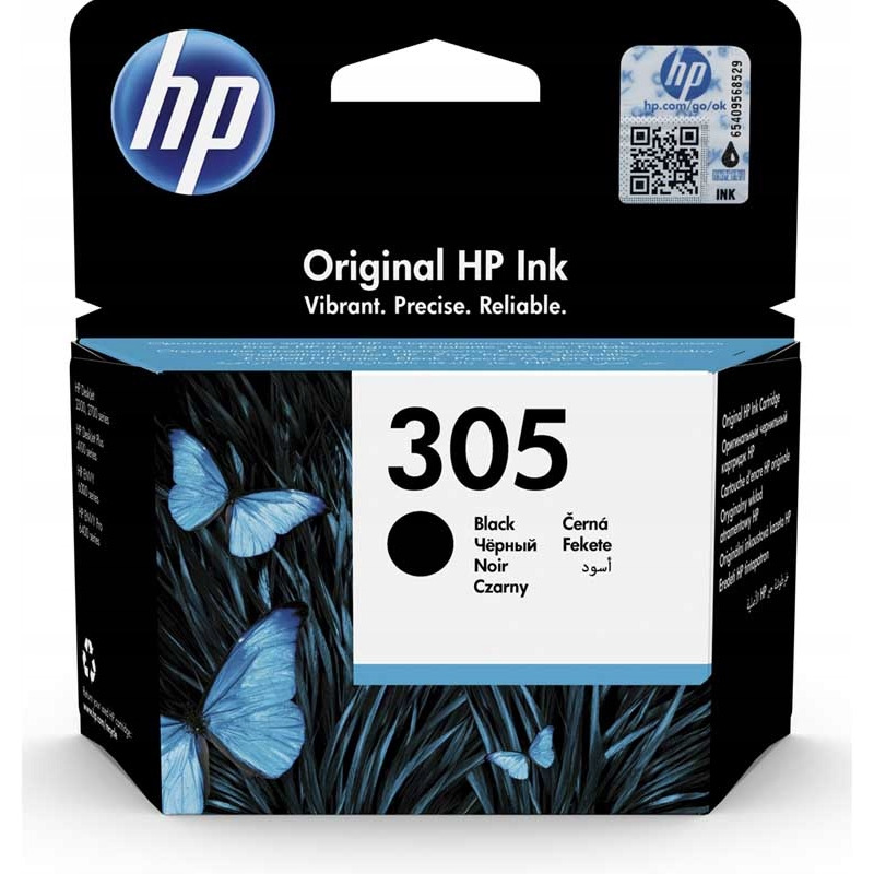 Tusz HP 305 (3YM61AE) czarny 120str, xx 0603280