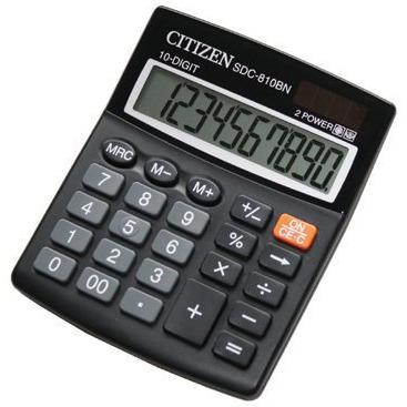 Kalkulator CITIZEN SDC810 II, kkk0700330