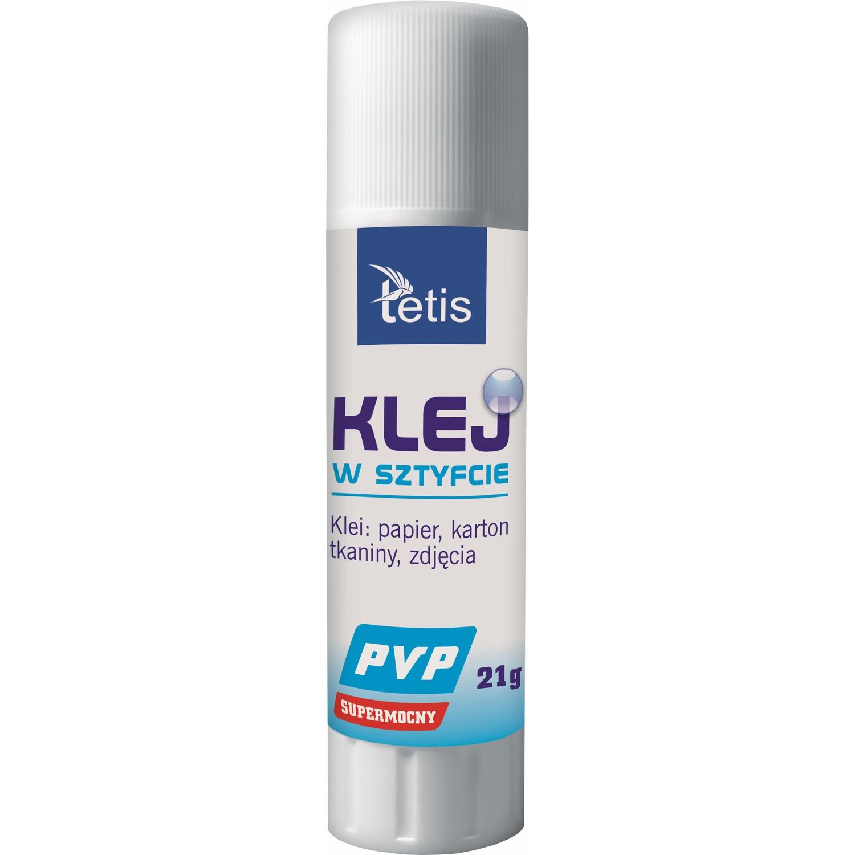 Klej w sztyfcie PVP 21g. BG112-G TETIS, klk1282258