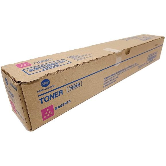 Toner KONICA MINOLTA (TN328M/AAV8350) purpurowy 28000str, xx 0387285