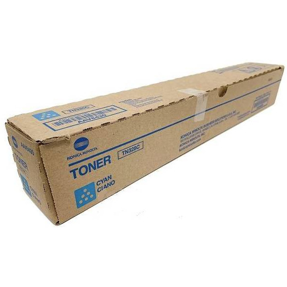 Toner KONICA MINOLTA (TN328C/AAV8450) niebieski 28000str, xx 0407285