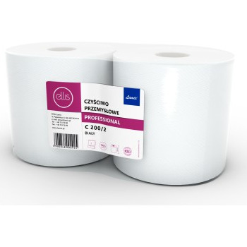Czyściwo ELLIS PROFESIONAL (2szt) C200/2 2 warstwy 26cm*200m 100% celuloza, re 0030036