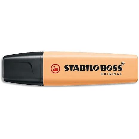 Zakreślacz STABILO BOSS 70/125 pastel subtelny pomarańcz, za 0438245