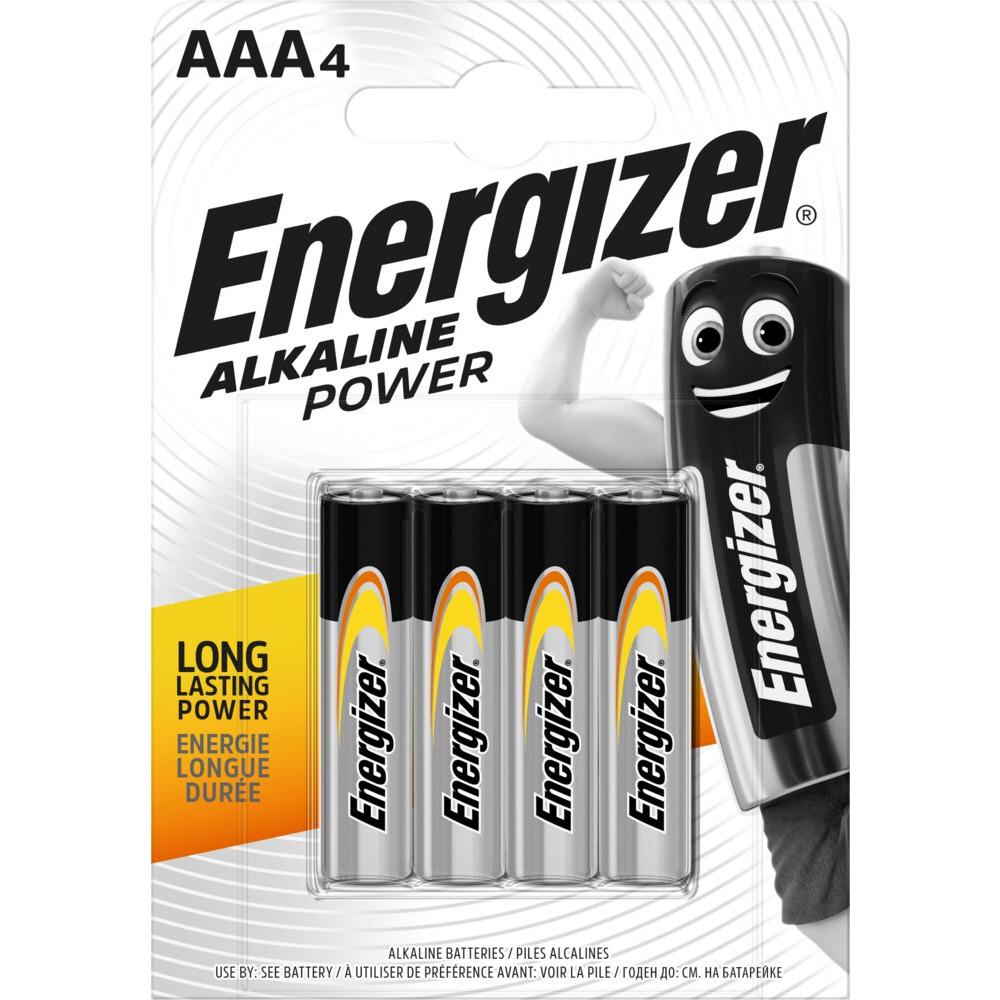 Bateria alkaliczna ENERGIZER INTELLIGENT AAA/LR03 (4szt), bak0010272
