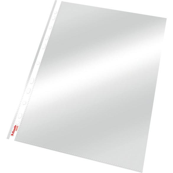 Koszulki krystaliczne A4 ESSELTE 55 mic. 56066 (100szt) 56066, obk0020087