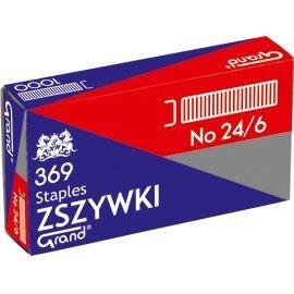 Zszywki 24/6 GRAND 369 10 paczek x 1000sztuk 110-1388, zsk0170025