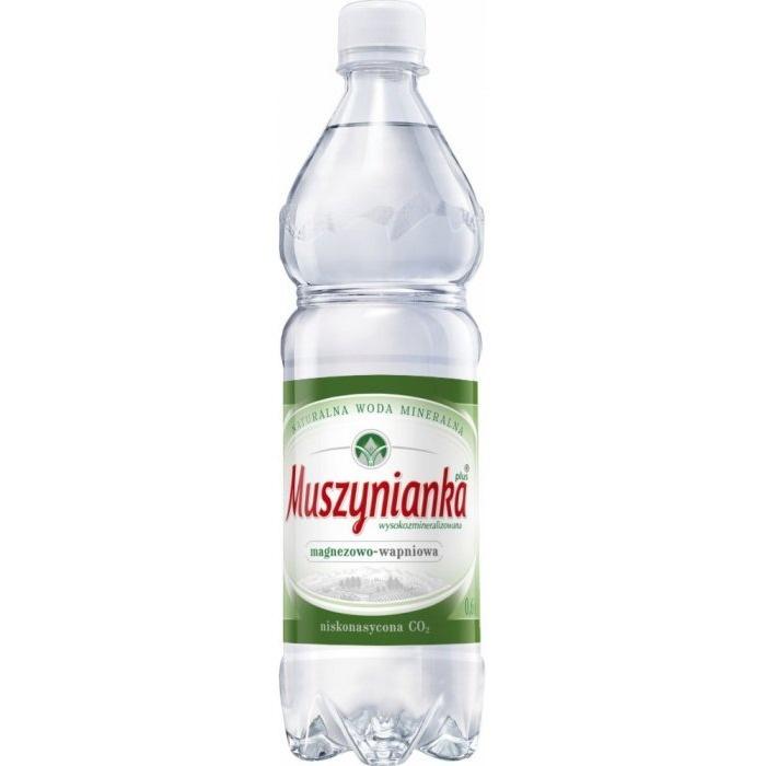 Woda MUSZYNIANKA 0.6L (8szt) niskogazowana, gnk0660233