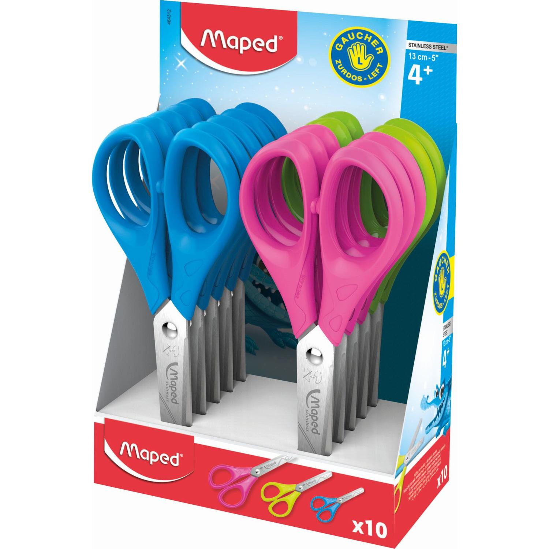 Nożyczki ESSENTIALS szkolne 13cm dla leworęcznych MAPED 464312, nzk0872244