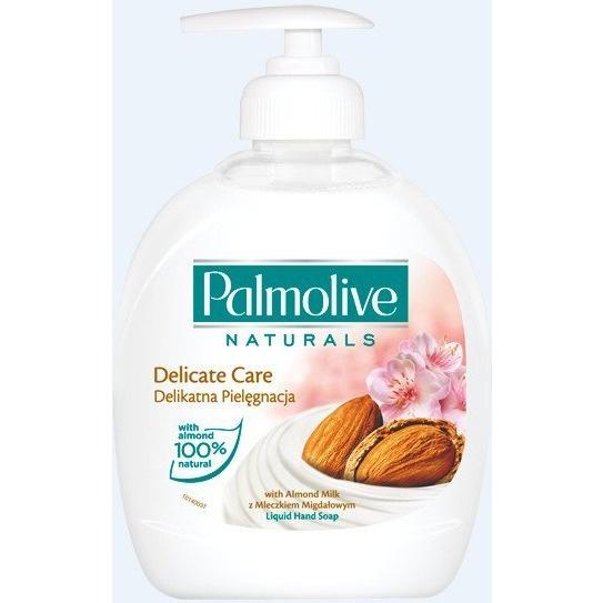 Mydło w płynie z dozownikiem PALMOLIVE 300 ml mleczko migdałowe 12906, hmk0050136