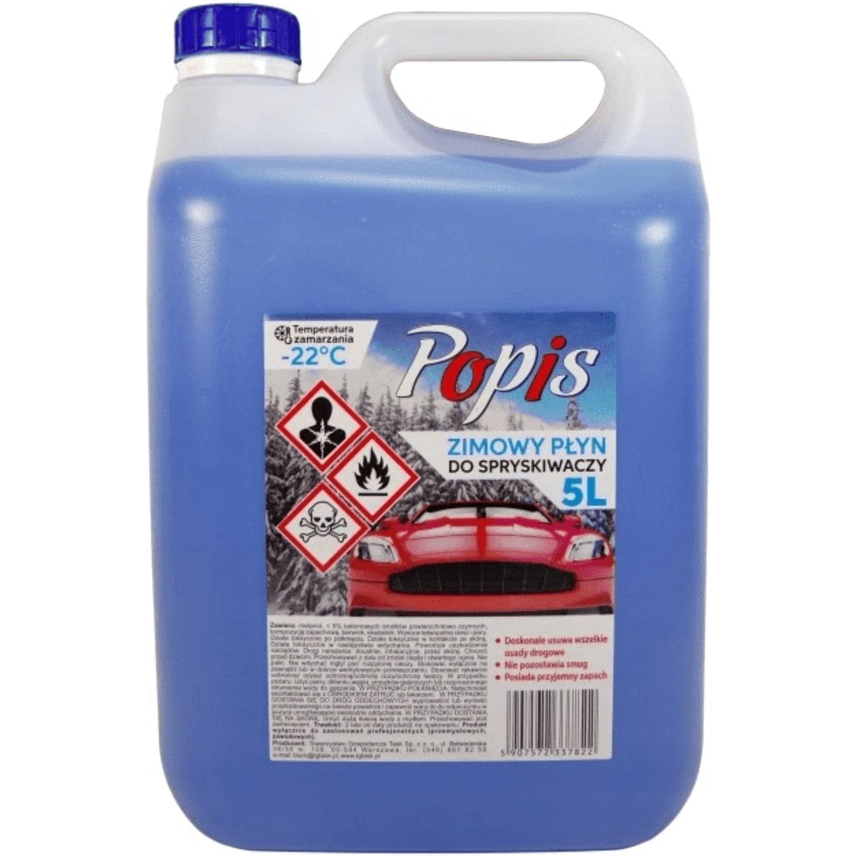 Płyn do spryskiwaczy POPIS 5L zimowy do -22`C, hp 0026136