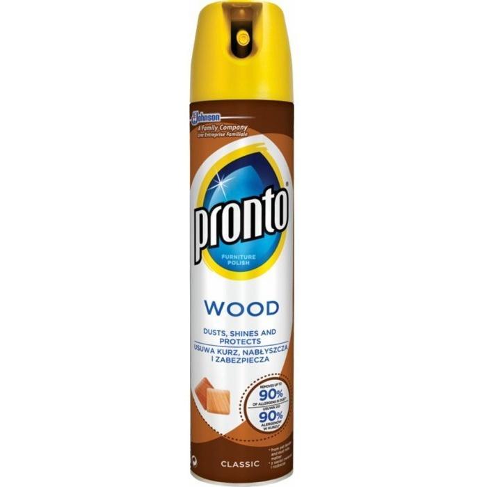 Spray przeciw kurzowi PRONTO Wood Classic 300ml 22547, hsk0050136
