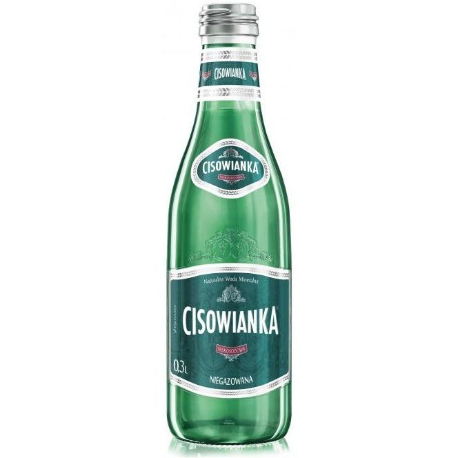 Woda CISOWIANKA 0.3L (24szt) Classique niegazowana szkło, gnk0850233