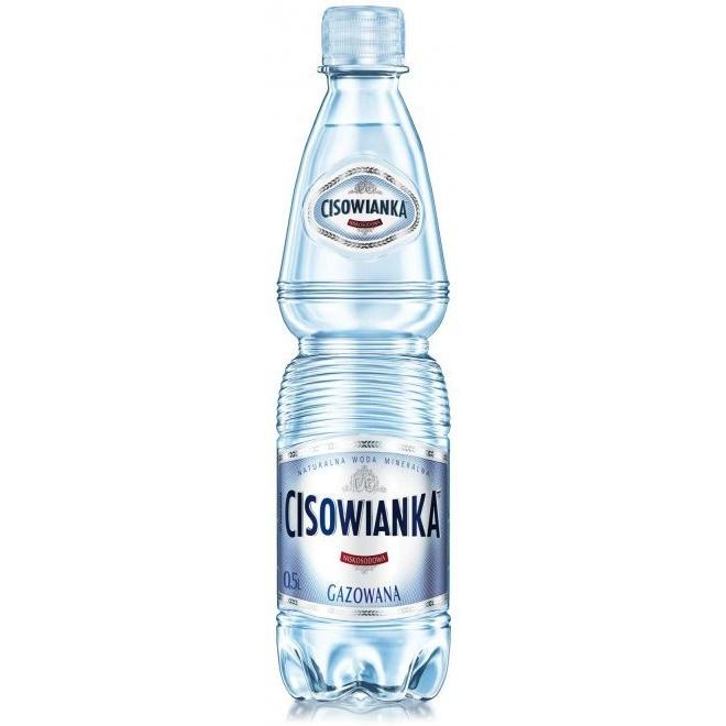 Woda CISOWIANKA 0.5L (12szt) gazowana, gnk0580233