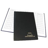 Książka korespondencyjna A4 192k czarna 229-015 WARTA