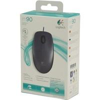 Mysz LOGITECH M90, czarna, USB 910-001794
