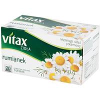 Herbata VITAX RUMIANEK 20t *1,5g ziołowa bez zawieszki