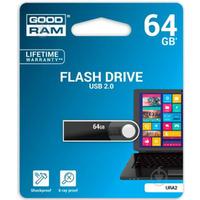 Pamięć USB GOODRAM 64GB URA2 czarny USB 2.0 URA2-0640K0R11