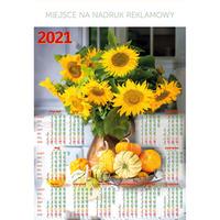 Kalendarz Plakatowy B1, P17 - SŁONECZNIKI 67x98cm TELEGRAPH