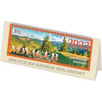 Kalendarz biurowy VOYAGER (H4k) - krem 268 x 97 mm TELEGRAPH