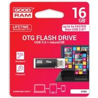 Pamięć USB GOODRAM 16GB OTN3 czarny USB 3.0 OTN3-0160K0R11