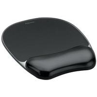 Podkładka Crystal pod mysz i nadgarstek czarna FELLOWES 9112101