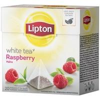Herbata LIPTON PIRAMID white raspbery (20 saszetek)