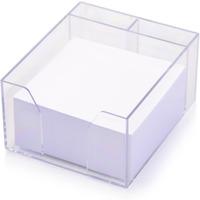 Kostka nieklejona pojemnik NATUNA 85x85x50 biała