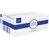 Ręcznik biały 21x22cm wzór (20x150 listków) ELLIS SIMPLE