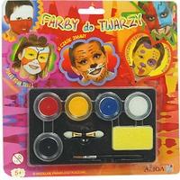 Farby do malowania twarzy 5kol. FA005 ALIGA