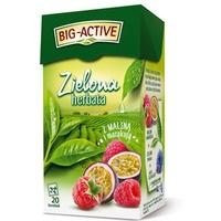 Herbata zielona BIG-ACTIVE MALINA-MARAKUJA 20t