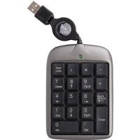 Klawiatura A4TECH EVO numeryczna USB srebrno-czarna