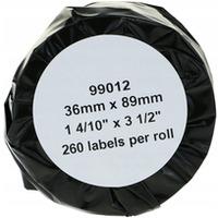 Etykiety BULK 89x36 adresowe biale zamiennik DYMO (99012)