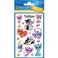 Naklejki tatuaże dla dzieci KOTY 56675 Z-DESIGN KIDS TATTOO AVERY ZWECKFORM