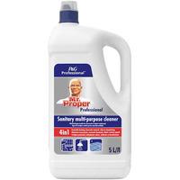 Płyn sanitarny Mr Proper 5L.wielofunkcyjny środek do czyszczenia urządzeń sanitarnych