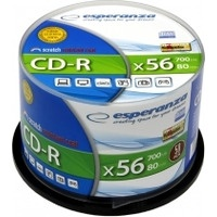 Płyty CD-R ESPERANZA SILVER CAKE BOX 50szt 2004