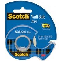 Taśma klejąca Wall-Safe bezpieczna dla ścian, podajnik, 19mmx16, 5m Scotch