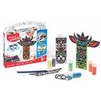 Zestaw kreatywny totemy i piasek MINI BOX Maped