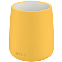 Kubek na długopisy Leitz Cosy, żółty 53290019