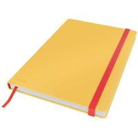 Notatnik Leitz Cosy, B5, kratka, żółty 44820019