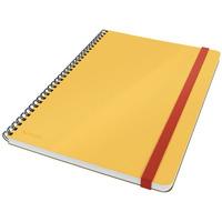 Kołonotatnik Leitz Cosy, kratka, żółty 44840019