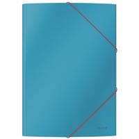 Teczka kartonowa z gumką, A4, niebieska 30020061