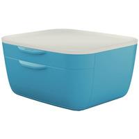 Pojemnik z szufladami Cosy, niebieski 53570061
