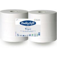 Papierowe czyściwo Premium 2w. 300m (2szt) białe, celuloza, niepylące 1000odcinków 57610 BulkySoft