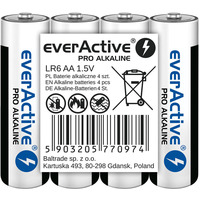Bateria alkaliczna EVERACTIVE Pro Alkaline AA/LR6 taca (4szt)