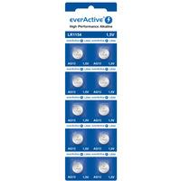 Bateria guzikowa alkaliczna EVERACTIVE 1, 5V AG13/LR44/LR1154 blister (10szt)