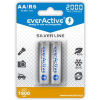Akumulatorek Ni-MH EVERACTIVE Silver Line AA/HR6 1900mAh blister (2szt)