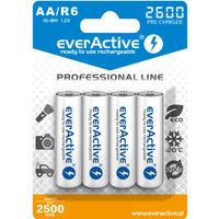 Akumulatorek Ni-MH EVERACTIVE Professional Line AA/HR6 2500mAh blister (4szt)
