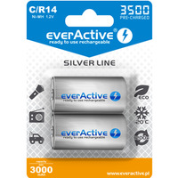 Akumulatorek Ni-MH EVERACTIVE Silver Line C/HR14 3000mAh blister (2szt)