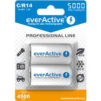 Akumulatorek Ni-MH EVERACTIVE Professional Line C/HR14 4500mAh blister (2szt)